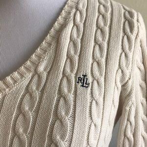 Lauren Ralph Lauren Sweaters - Ralph Lauren cable knit sweater XS